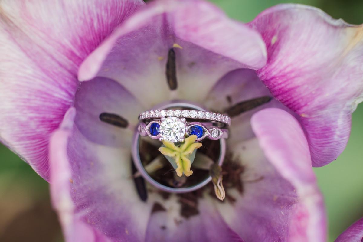 macro wedding ring shot vt